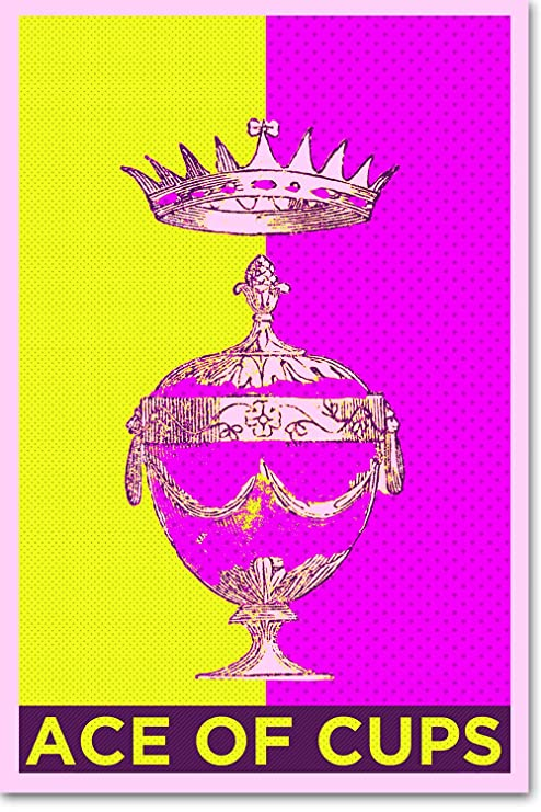 Amazon com: // Best Quality Prints // Ace of Cups (Tarot