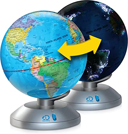 Discovery Kids 2-in-1 World Globe LED Lamp w/Day & Night Modes, STEM on day and night contact, day and night drawing, day and night game, day and night flag, day and night ruler, day and night phone, day and night information, day and night activities, day and night city, day and night paper, day and night art, day and night logo, day and night text, day and night painting, day and night film, day and night calendar, day and night sort, day and night cycle diagram, day and night time, day and night parts,