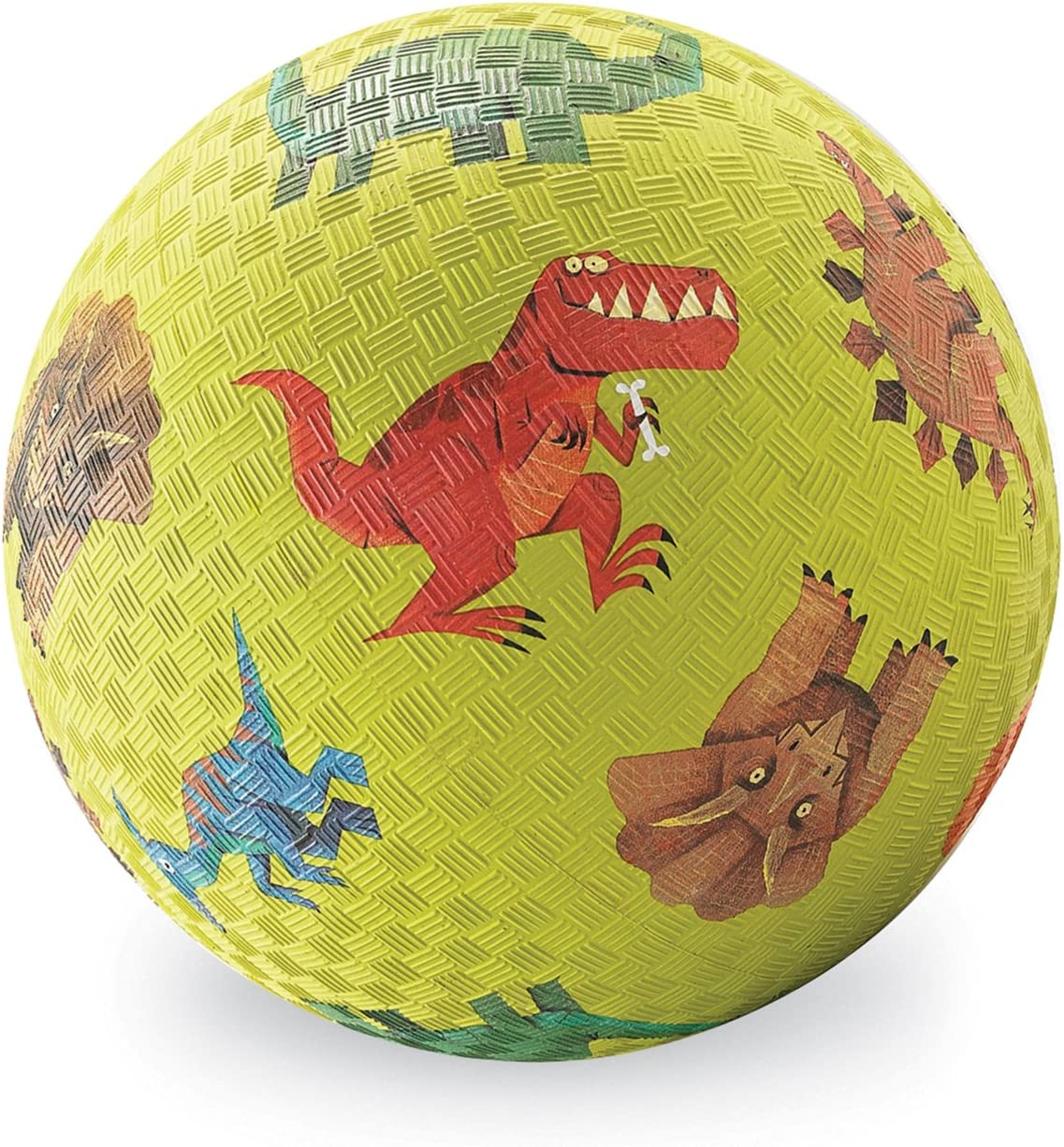 Dinosaurs- Rubber Playground Ball 5 for Kids Ages 3 /& Up Crocodile Creek