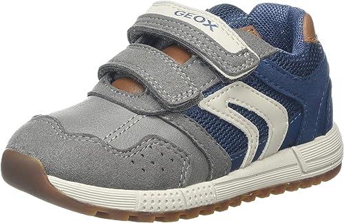 sonido un poco Personal  Geox B Alben Boy A, Zapatillas Niños: Amazon.es: Zapatos y complementos