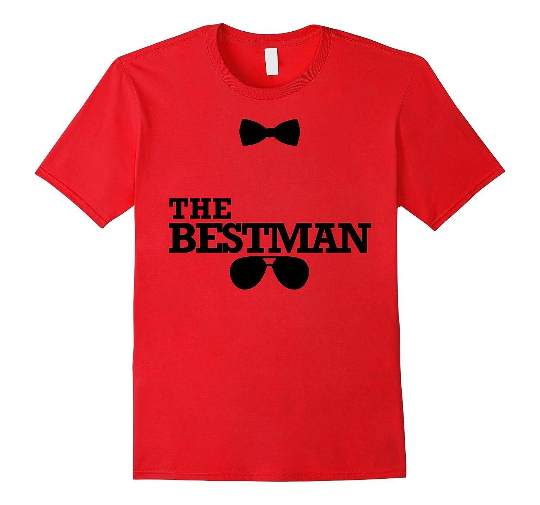 Mens The Bestman Funny Graphic T-shirt Men-FL