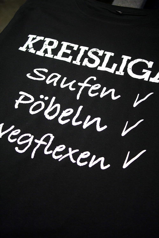 T Shirt Kreisliga Saufen P/öbeln Wegflexen