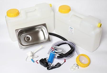 Ad Ideen.Feature Imbisswagen Verkaufsanhänger Camping 230v Kit Sink
