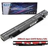 BLESYS - 14.4V/2600mAh A41-X550 ASUS X550 X550C X550CA X550L X552CL F550L K450J X450 Batteria Sostituire per A41-X550A