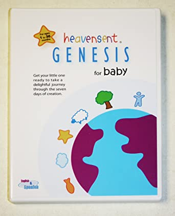 Heavensent Genesis For Baby Dvd Get Your Little One Ready To Take A Journey Through