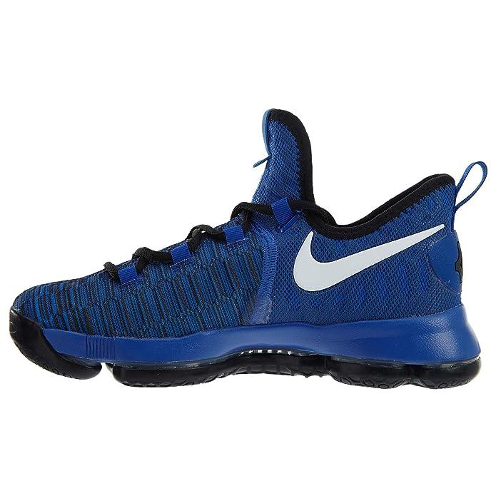 new style 3adc4 c85e4 Amazon.com   Nike Kids  Grade School Zoom KD 9 Basketball Shoes (6, Game  Royal)   Basketball