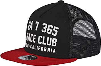 864a7e1ff1a42 Image Unavailable. Image not available for. Color  Troy Lee Designs Race  Club Snapback Hat-Red