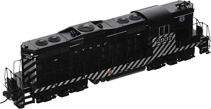 Amazon Com Bachmann Industries Santa Fe 2937 Emd Gp9 Diesel Locomotive Car Toys Games
