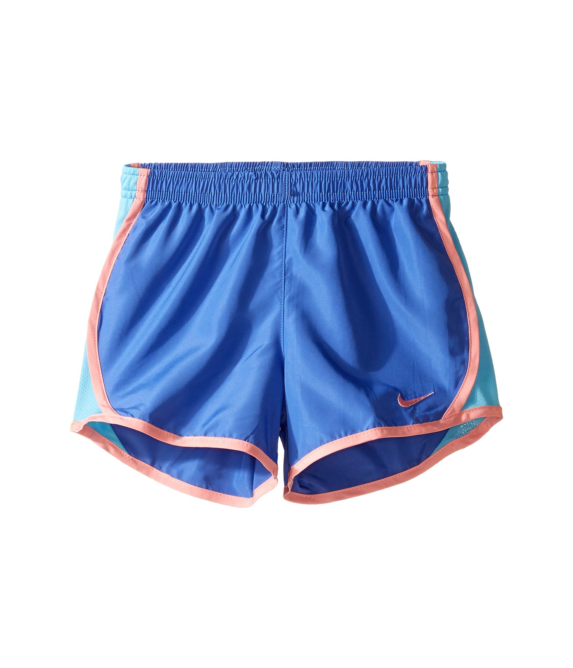 Nike Kids Dri-FIT Woven Short Toddler/Little Kids Comet Blue Girls Shorts by Nike