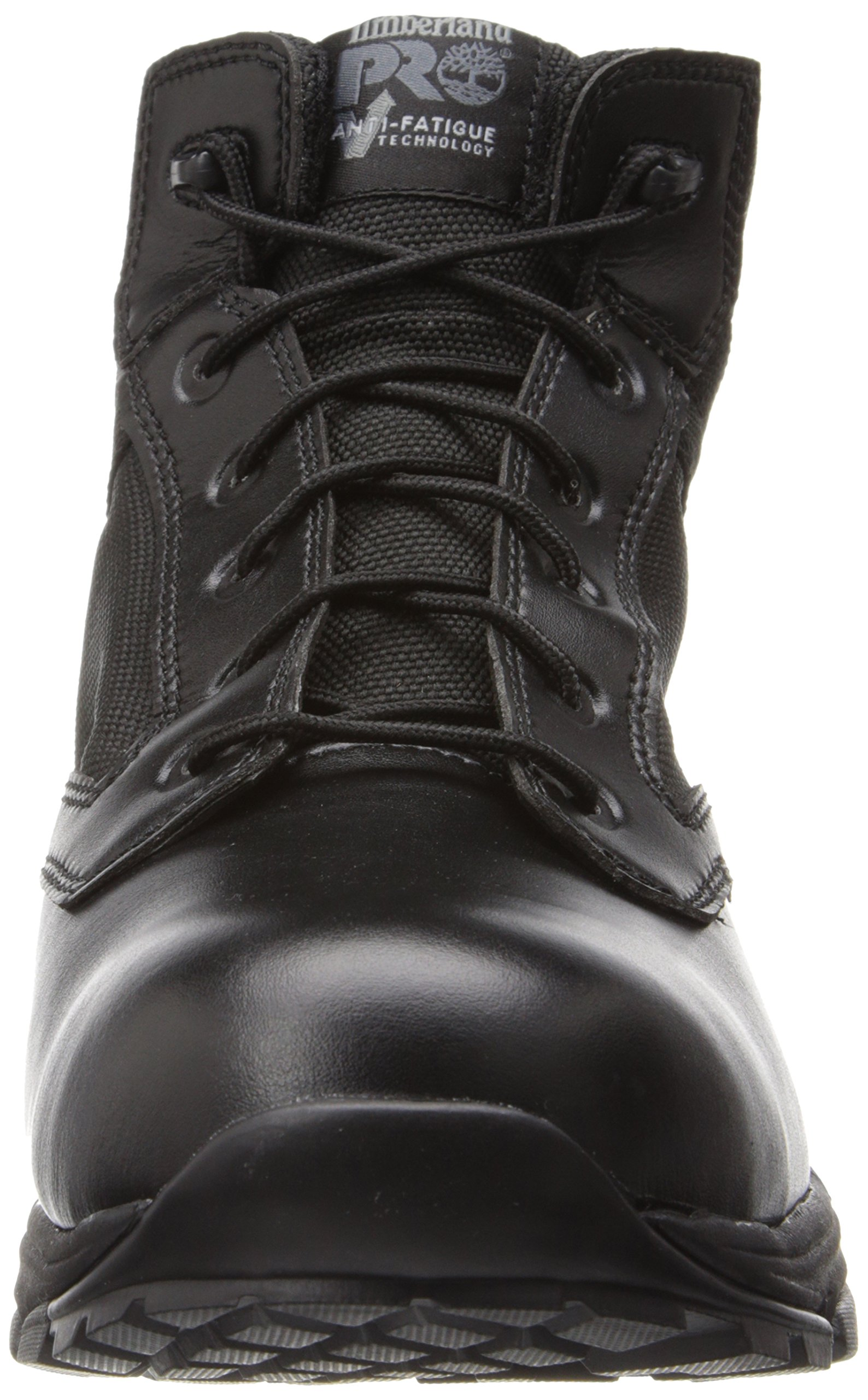 Timberland PRO Men's 5 Inch Valor Soft Toe Waterproof Duty Boot,Black Smooth With Textile,11.5 M US by Timberland PRO (Image #4)