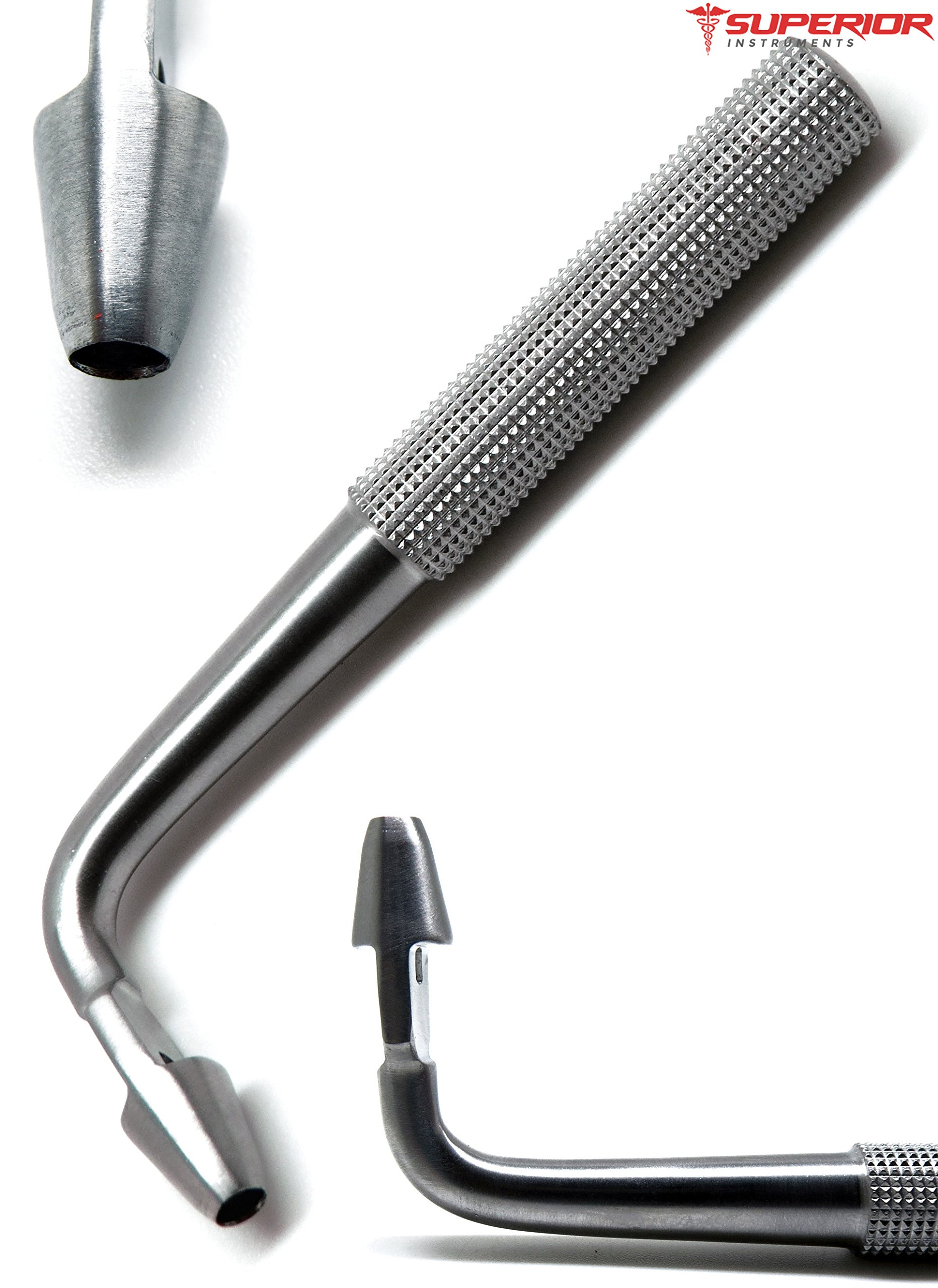 Tissue Punch 4mm Angled/Offset/Curved Dental Implant Superior Stainless Steel Instruments by Superior (Image #1)