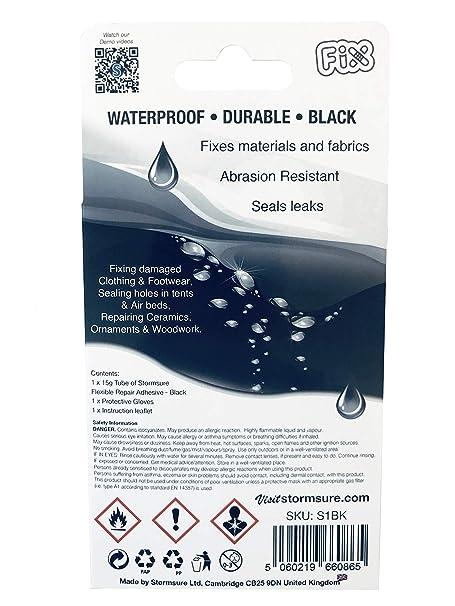 transparente Réparation Autocollant pour flexible 2,40//stk Stormsure 5 Eau Densité