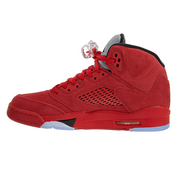 990daf6eccc Amazon.com | NIKE Kids Air Jordan 5 Retro BG University Red/Black  440888-602 (Size: 3.5Y) | Fashion Sneakers