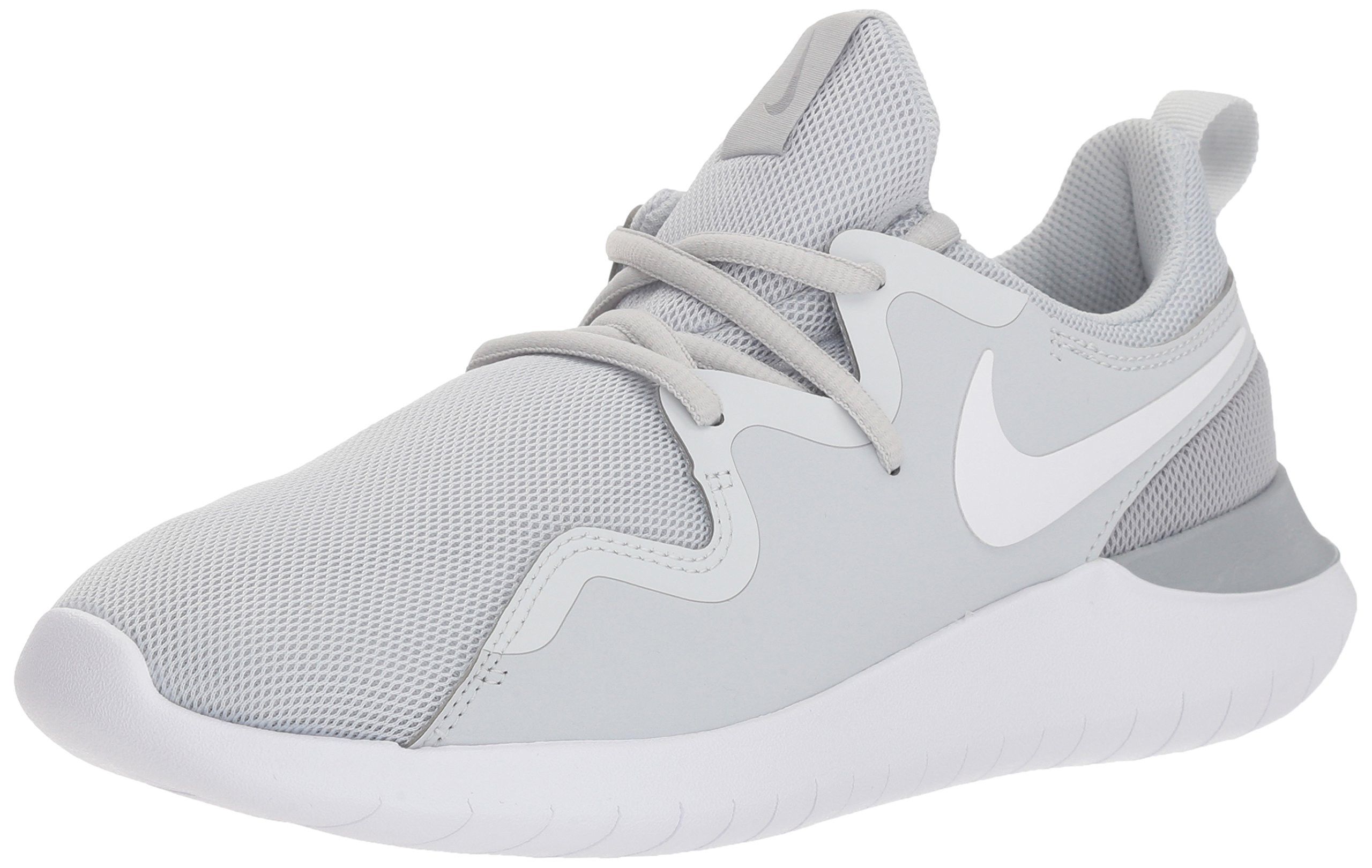 cheap for discount 1fde6 0048f Galleon - NIKE Women s Tessen Running Shoe, Pure Platinum White-Wolf Grey, 8  Regular US