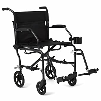 Amazon.com: Silla de ruedas Medline, ultraliviana, con ...