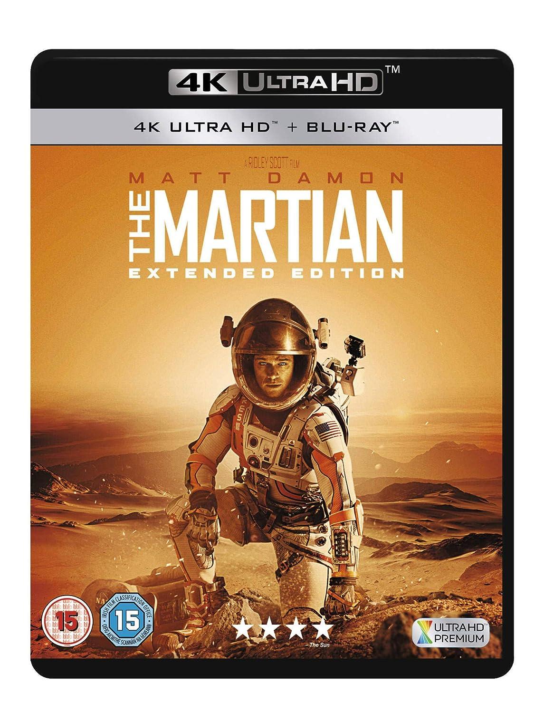 9c71e98dda5c The Martian  Extended Edition  Blu-ray   Amazon.co.uk  Matt Damon ...