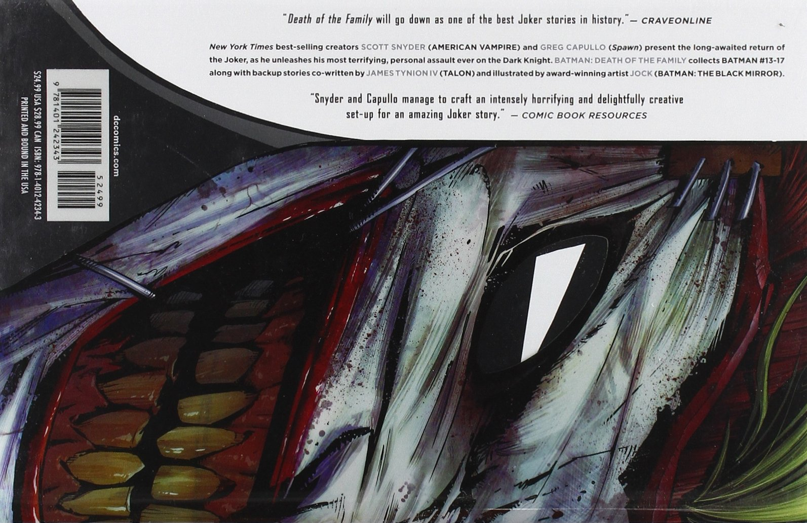 Batman Volume 3: Death of the Family HC (The New 52): Amazon.es: Scott Snyder: Libros en idiomas extranjeros