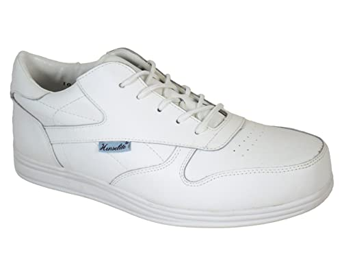 1a60763cb34 Junior Henselite Victory Sport Lace Lawn Bowling Shoes White UK Size ...