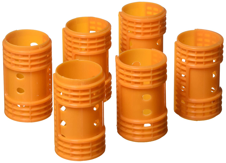 Fromm International Diane Snap on Magnetic Roller, Orange, 1.5-Inch, 6 Per Bag D4720