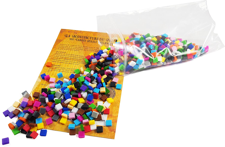 La Manufacture Du Pixel 900 Carrés Pixels Multicolore Pixel Art Loisir Créatif Mosaïque Fun Créez à Linfini Tout Lart Qui Vous Ressemble