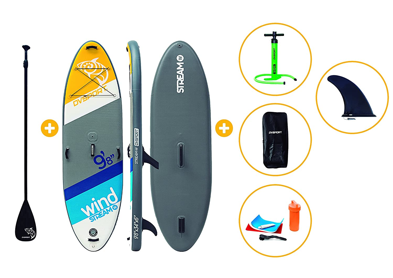 Paddle Surf Stream Wind-iSup: Amazon.es: Juguetes y juegos