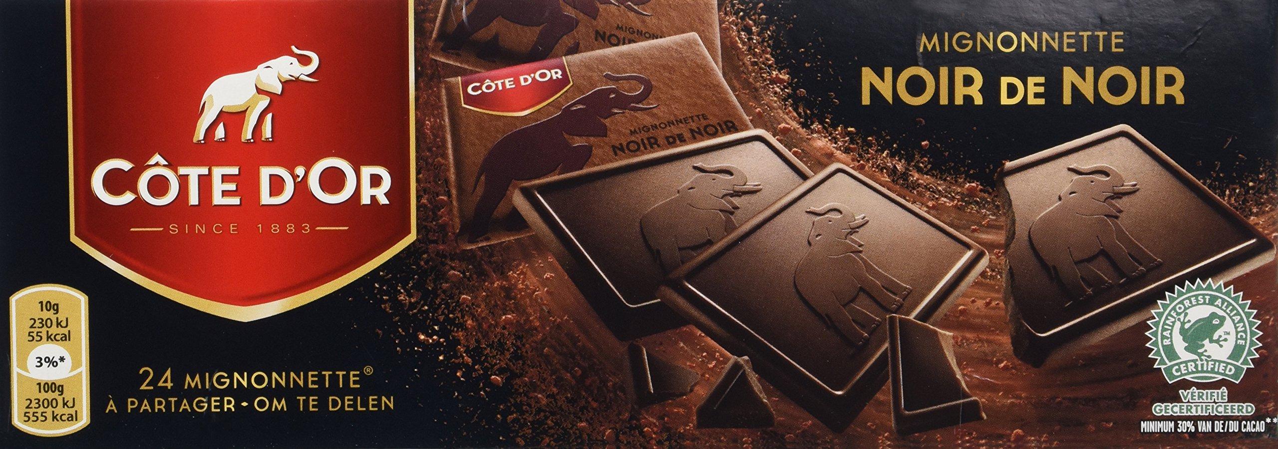 Cote d'Or - Mignonnette Extra Dark Chocolate (54% cacao) (Premium Belgium Chocolate) (8.5 Oz.)