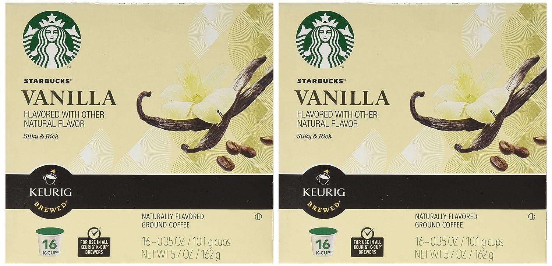 Starbucks0174; Vanilla Flavored K-Cup0174; Packs, 32-count