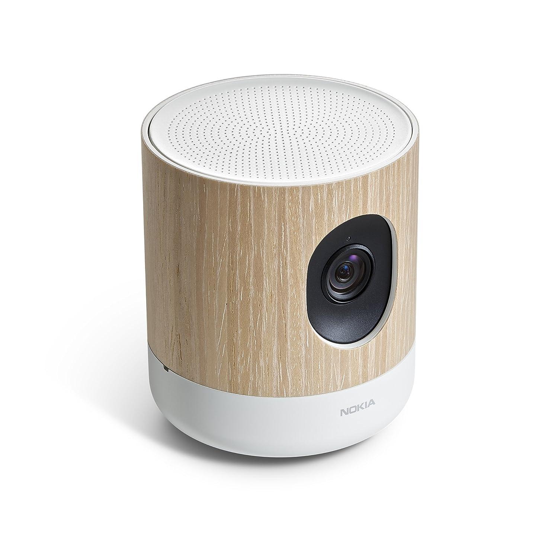 Nokia Home - Videocamera di sorveglianza con sistema di controllo della qualità dell'aria