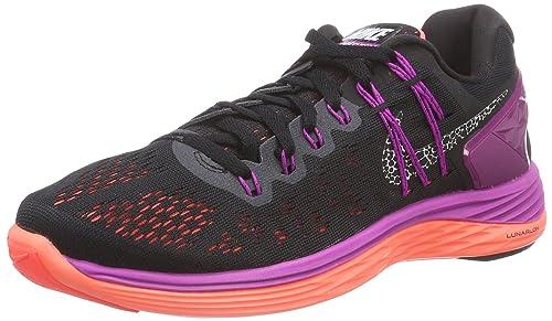 Nike Lunareclipse 5 - Zapatillas para Mujer, Color Multicolor (Schwarz/Violett), Talla 37.5 Nike