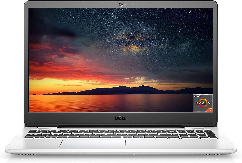 2021 Newest Dell Inspiron Performance Laptop, 15.6 FHD Display, AMD Ryzen 7 3700U Processor, 16GB DDR4 RAM, 1TB Hard Disk Drive, Online Meeting Ready, Webcam, WiFi, HDMI, Bluetooth, Win10 Home, White