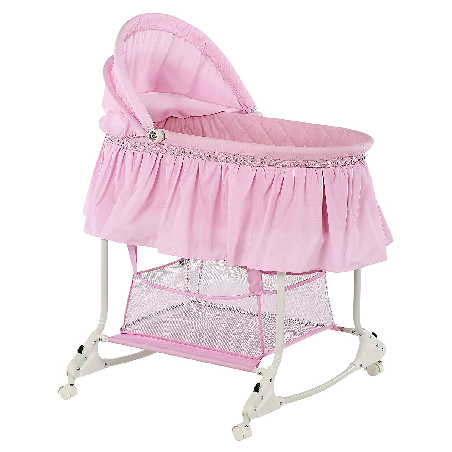 amazon com dream on me willow bassinet pink baby