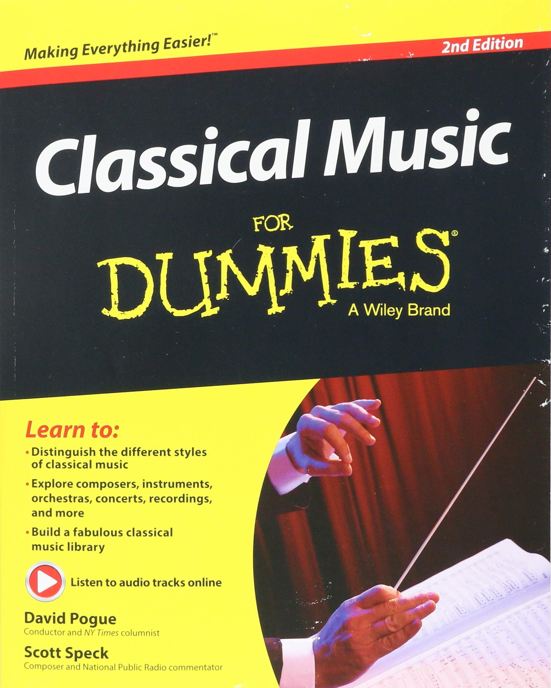 Classical Music For Dummies: David Pogue, Scott Speck: 9781119049753:  Amazon.com: Books