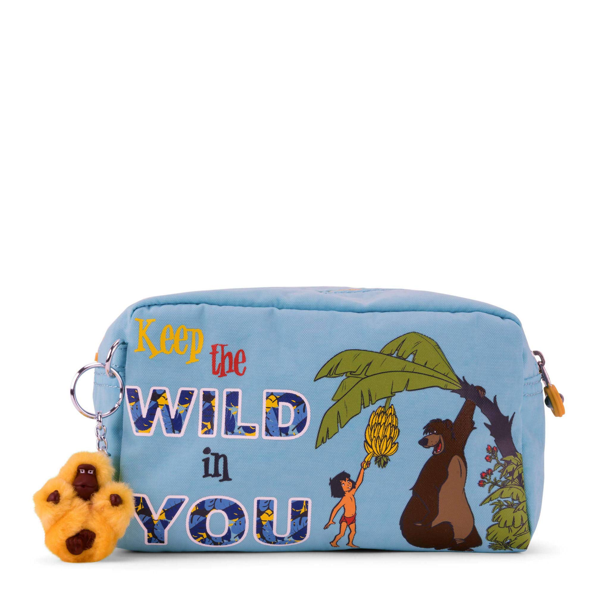Kipling Disney's Jungle Book Gleam Pouch, Bear Hugs Blue