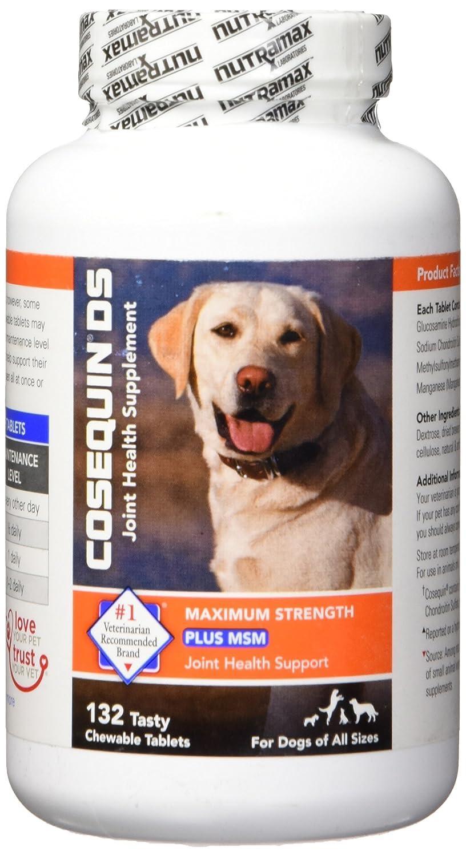 Miniatura Nutramax Cosequin DS Plus MSM Comprimidos masticables - 132 Hilos: Amazon.es: Productos para mascotas