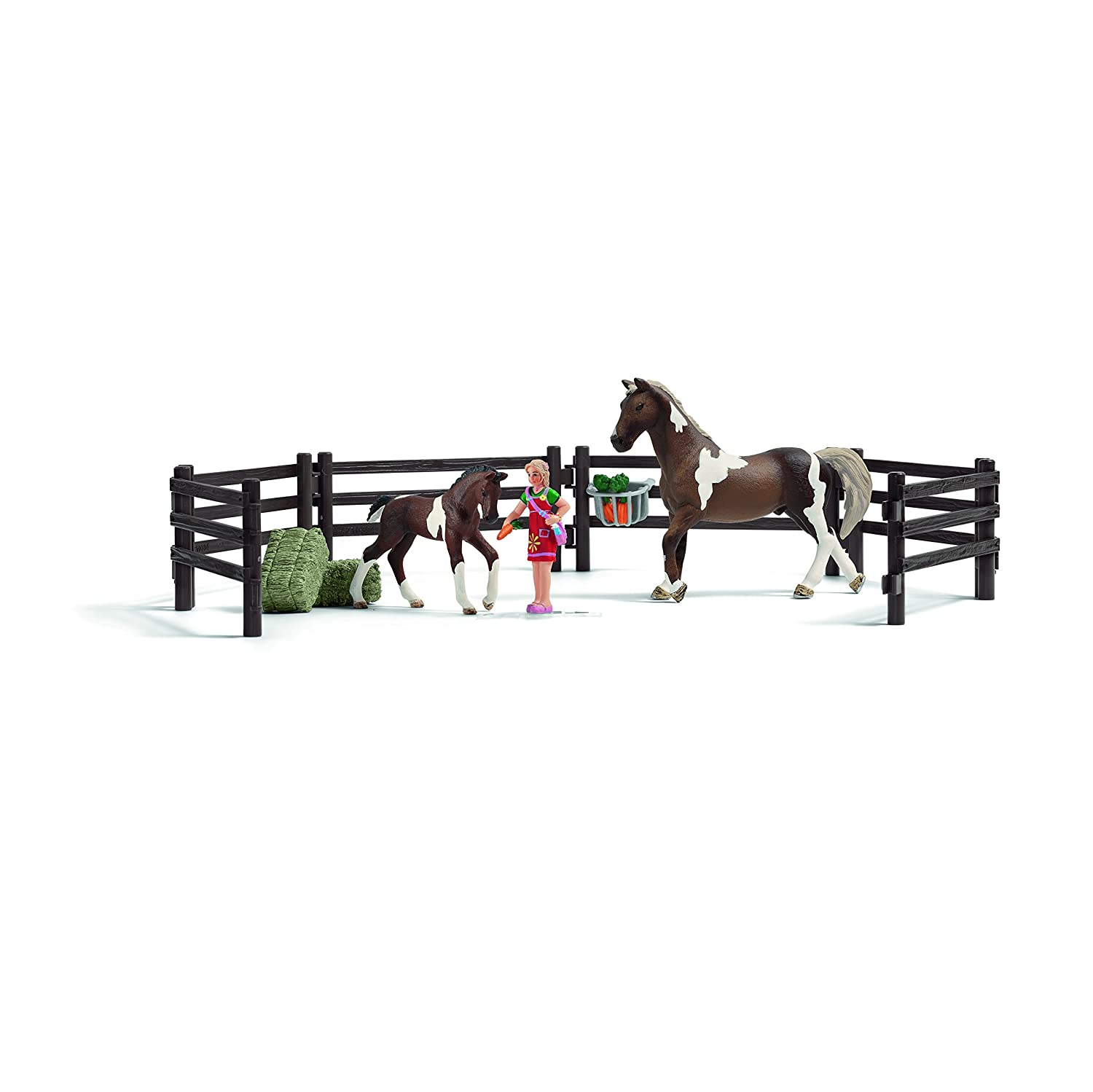 Schleich Horse Feeding Play Set Schleich North America 21049