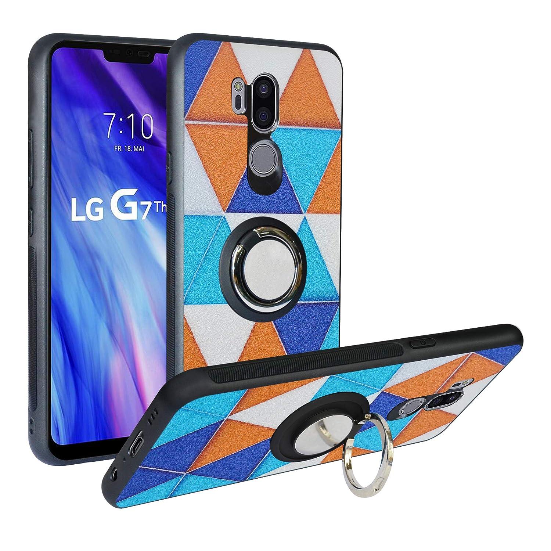Funda para LG G7 ThinQ,Fashion Design [Antigolpes] con 360 Anillo ...
