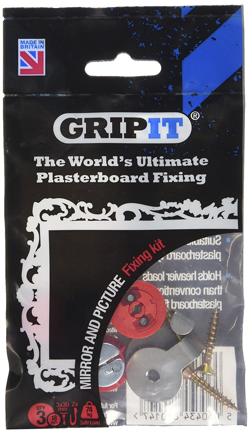 GripIt Mirror and Picture Kit 3 Piece