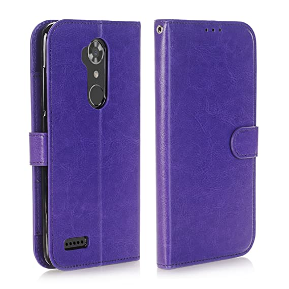 buy popular b3914 70a8d Alkax ZTE ZMAX Pro Wallet Case, ZTE Max XL Case, ZTE ZMAX Pro Case, ZTE  Z981 Case, Kickstand Wallet Phone Case Shockproof Hybrid Girls Men with  Stand ...