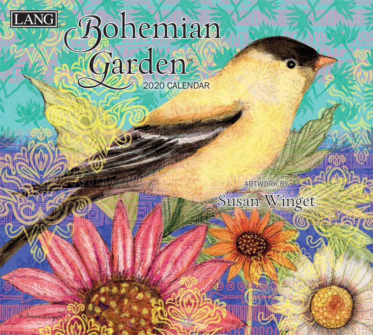 The Lang Companies Bohemian Garden 2020 Wall Calendar (20991001851)