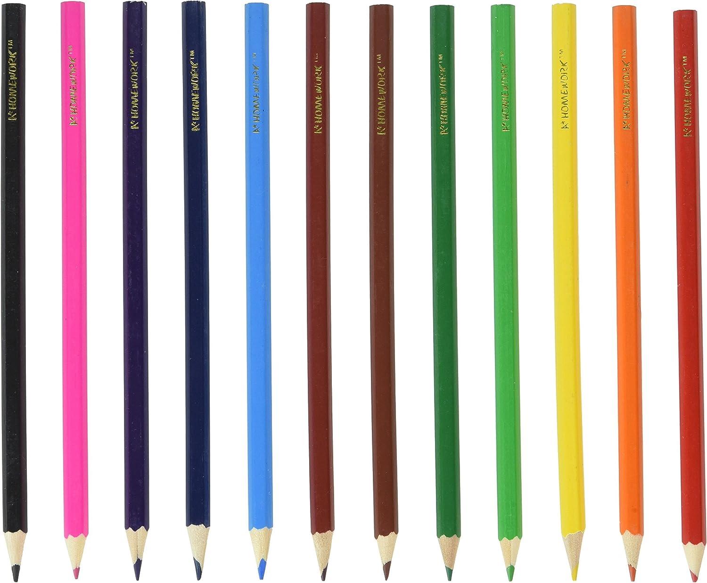 Coloured Pencils 12 Different Colours