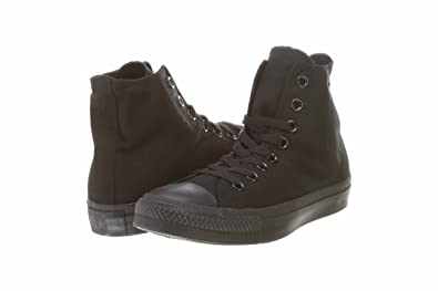 9f48e7586fec Converse Mens Chuck Taylor All Star Hi Style  M3310-BLK MONO Size  6.5