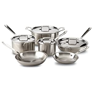 All-Clad®_d5_Brushed_Stainless-Steel_Cookware_Set,_10-Piece_Set