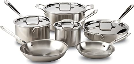 All-clad Brushed Stailess Cookware
