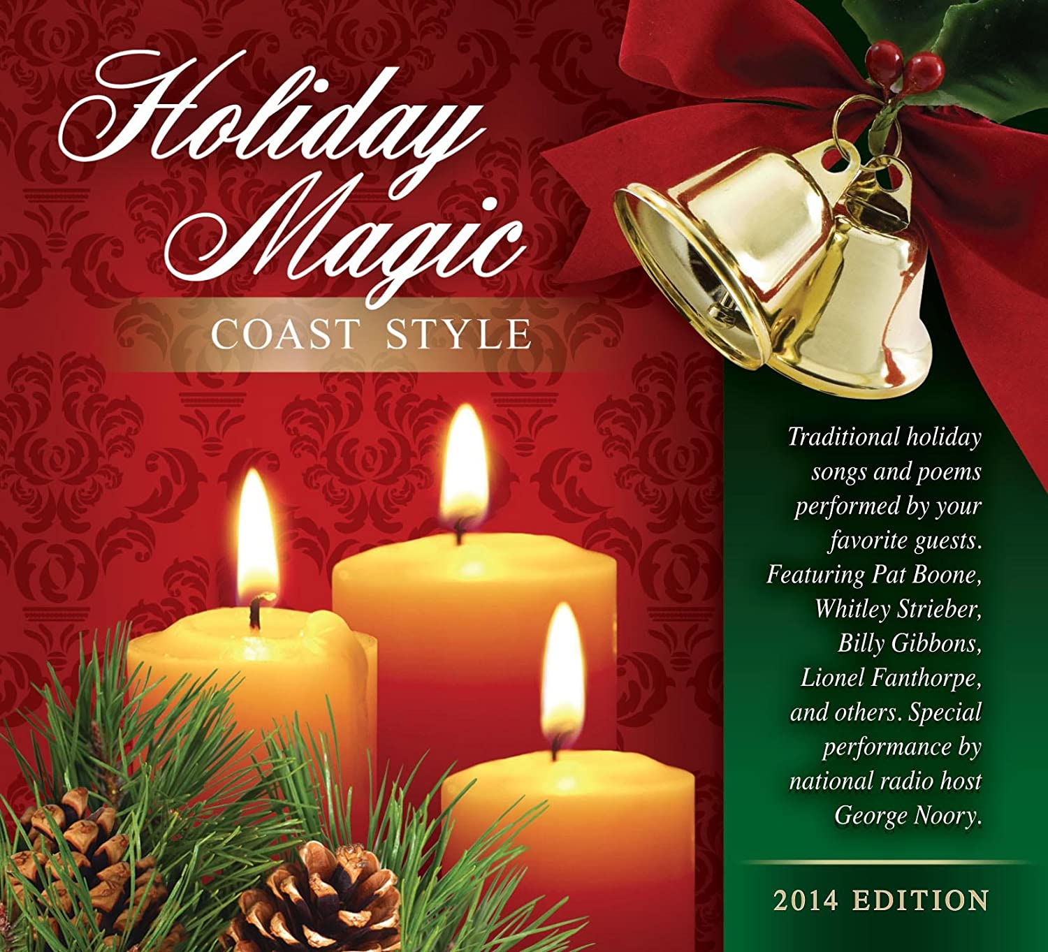 Traditional holiday songs and poems performed by your favorite coast traditional holiday songs and poems performed by your favorite coast to coast am guests holiday magic coast style cd amazon music kristyandbryce Image collections