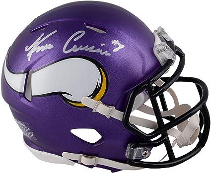 15e30977a Kirk Cousins Minnesota Vikings Autographed Riddell Speed Mini Helmet - Fanatics  Authentic Certified - Autographed NFL