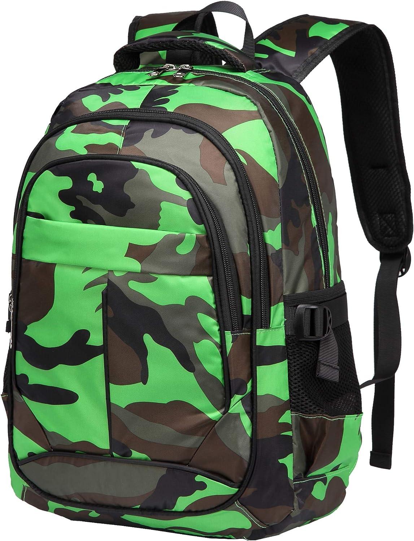 BLUEFAIRY Kids Backpacks for Boys Girls Elementary Middle High School Bags Bookbag
