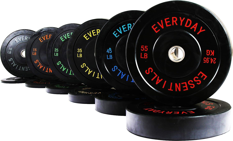 Blue MYO Strength Olympic Coloured Bumper Plate 20kg PAIR