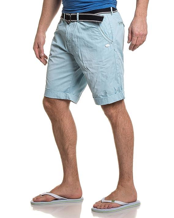 279a4999001f Legenders - Bermuda Chino Bleu Ciel - Couleur  Bleu - Taille  XXL   Amazon.fr  Vêtements et accessoires