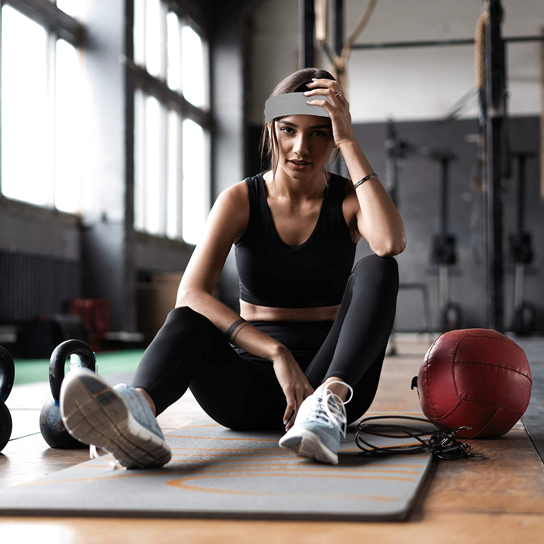 Asciugamani Refrigeranti da Collo 2x 1x custodia 90x30 cm Relaxdays Blu Rinfrescante Giovent/ù unisex per Sport /& Fitness Set da 2