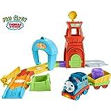Thomas & Friends FKC81 Railway Pals Rescue Tower Set, Thomas the Tank Engine Railway Pals Toy Train Set, My First Toy Train Set Toddler